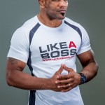 Yoel Romero White and Black T-Shirts