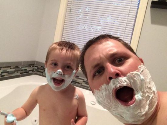shaving-with-dad
