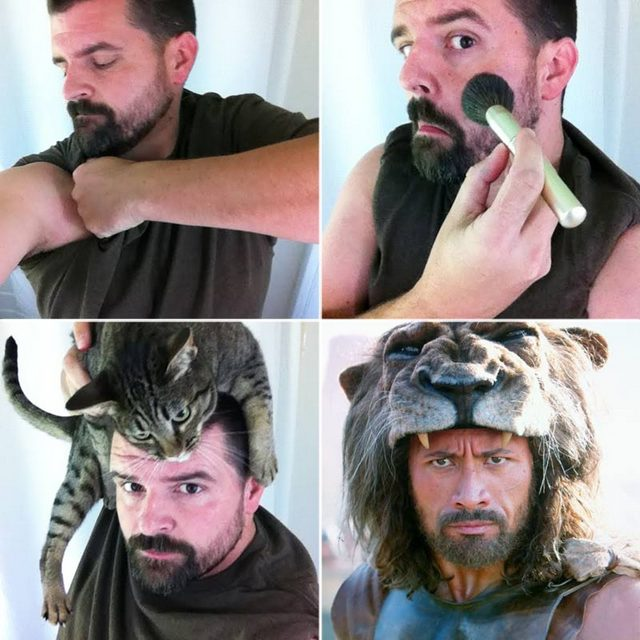 the-rock-makeup-transformation