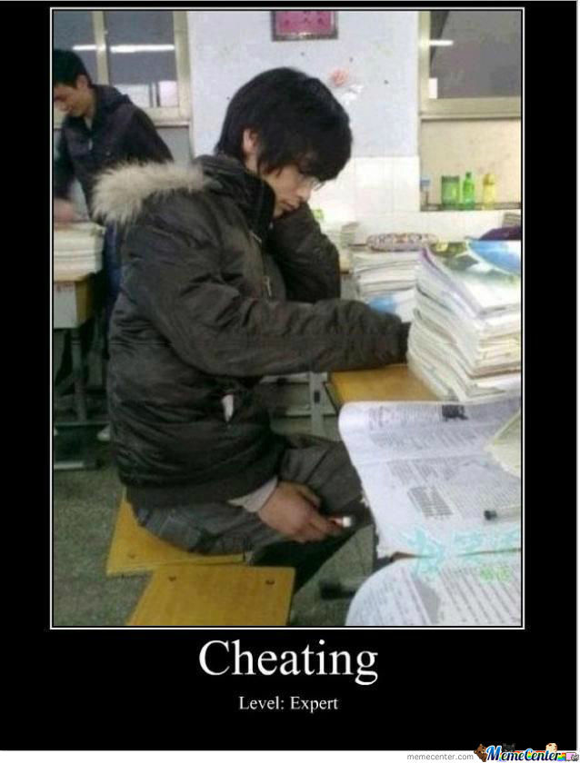 Cheating level expert
